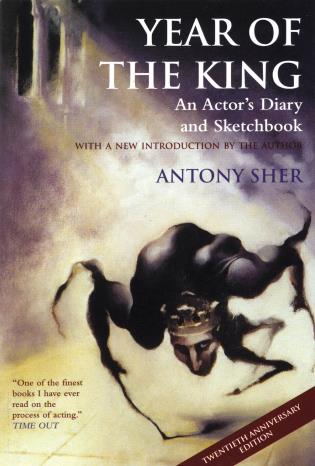 Cover image for the book Year of the King: An Actor's Diary and Sketchbook