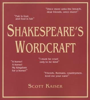 Cover image for the book Shakespeare's Wordcraft