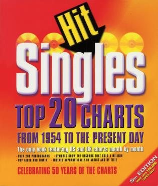 Cover image for the book Hit Singles: Top 20 Charts from 1954 to the Present Day