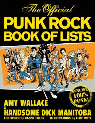 Cover image for the book The Official Punk Rock Book of Lists