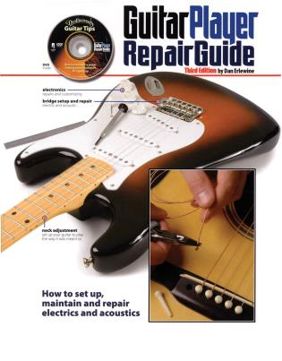 Cover image for the book The Guitar Player Repair Guide, Third Edition