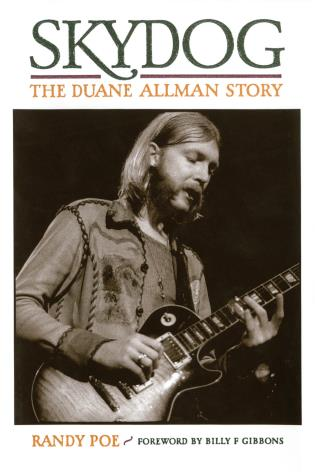 Cover image for the book Skydog: The Duane Allman Story