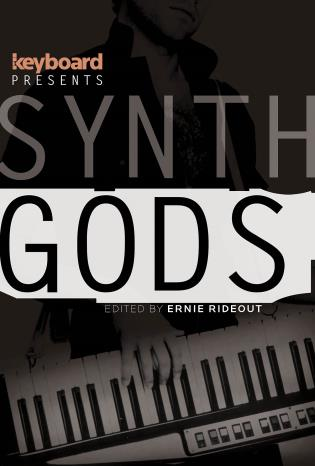 Cover image for the book Keyboard Presents Synth Gods