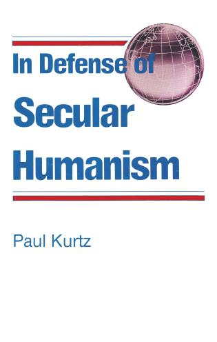 Cover image for the book In Defense of Secular Humanism