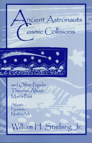 Cover image for the book Ancient Astronauts, Cosmic Collisions
