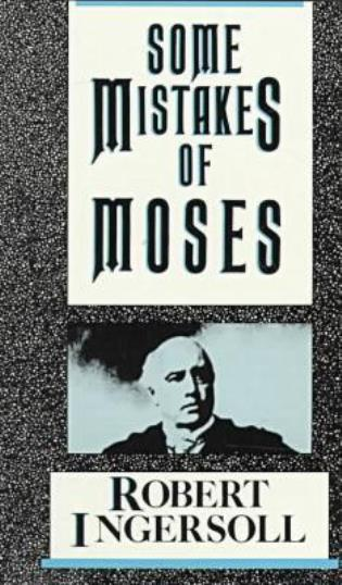 Cover image for the book Some Mistakes of Moses