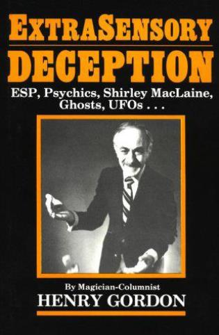 Cover image for the book Extrasensory Deception