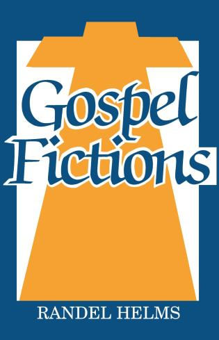 Cover image for the book Gospel Fictions
