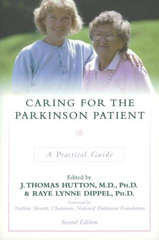 Cover image for the book Caring for the Parkinson Patient