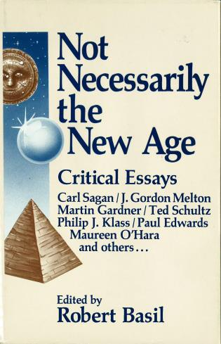 Cover image for the book Not Necessarily the New Age