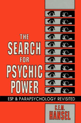 Cover image for the book The Search for Psychic Power