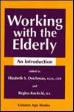 Cover image for the book Working with the Elderly