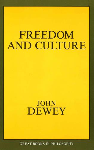 Cover image for the book Freedom and Culture