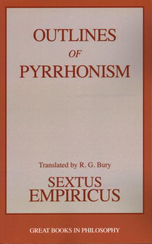 Cover image for the book Outlines of Pyrrhonism