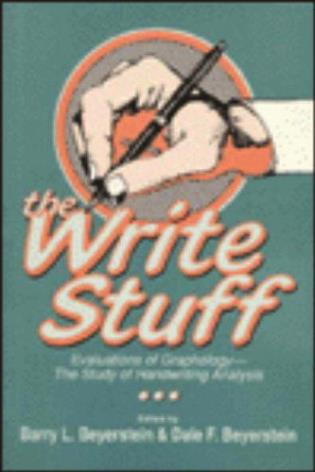 Cover image for the book The Write Stuff