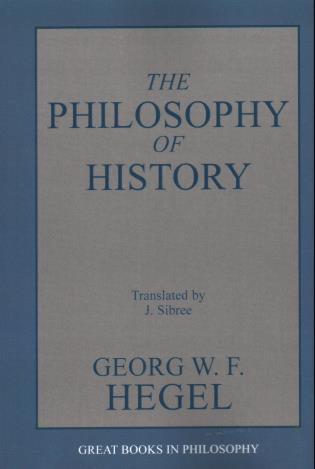 Cover image for the book The Philosophy of History