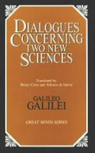 Cover image for the book Dialogues Concerning Two New Sciences