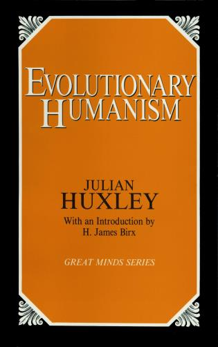 Cover image for the book Evolutionary Humanism