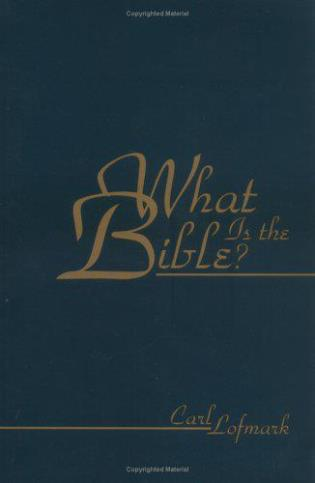 Cover image for the book What Is the Bible?