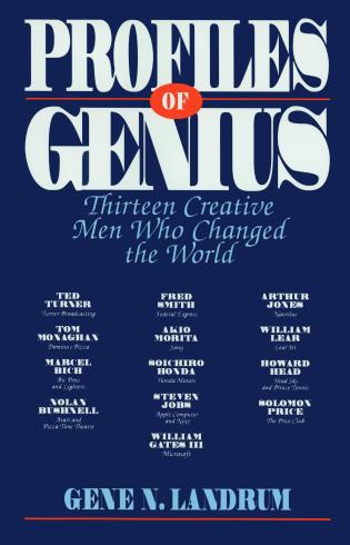 Cover image for the book Profiles of Genius