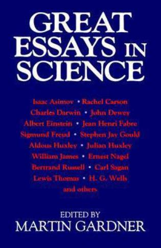 Cover image for the book Great Essays in Science