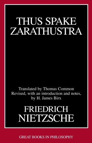 Cover image for the book Thus Spake Zarathustra