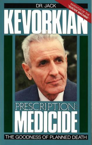 Cover image for the book Prescription Medicide