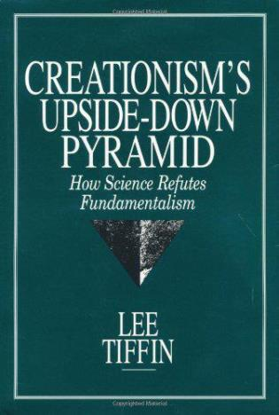 Cover image for the book Creationism's Upside-Down Pyramid