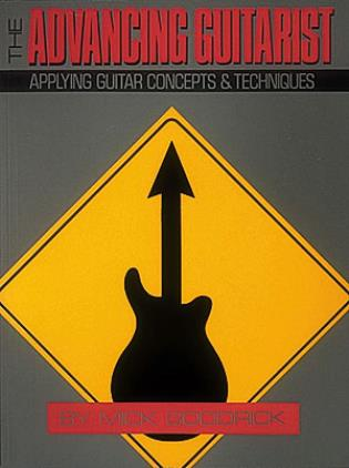 Cover image for the book The Advancing Guitarist
