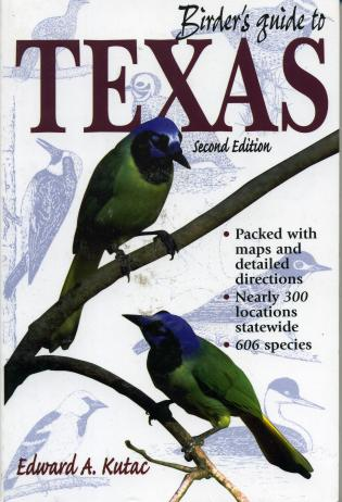 Cover image for the book Birder's Guide to Texas