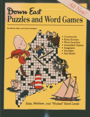 Cover image for the book Down East Puzzles and Word Games