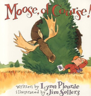 Cover image for the book Moose, Of Course!
