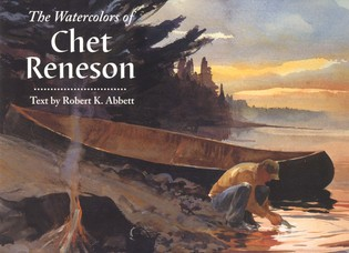 Cover image for the book The Watercolors of Chet Reneson