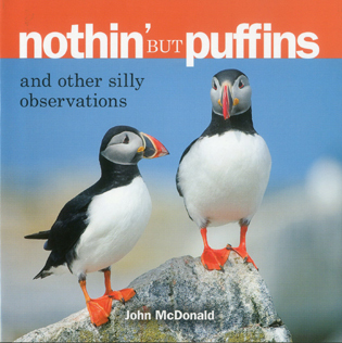 Cover image for the book Nothin' but Puffins: And Other Silly Observations