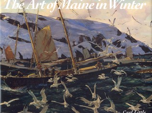 Cover image for the book The Art of Maine in Winter