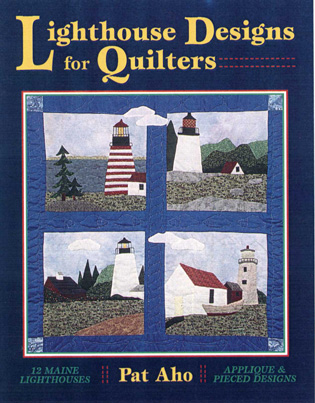 Cover image for the book Lighthouse Designs for Quilters
