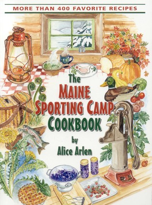 Cover image for the book Maine Sporting Camp Cookbook