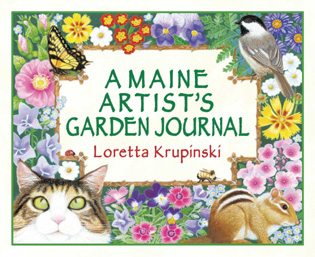 Cover image for the book A Maine Artist's Garden Journal
