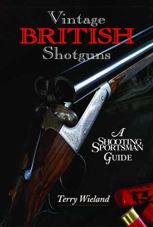 Cover image for the book Vintage British Shotguns: A Shooting Sportsman Guide