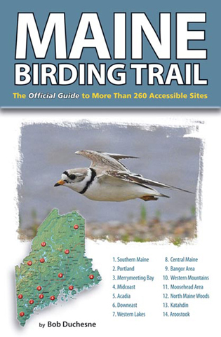 Cover image for the book Maine Birding Trail: The Official Guide to More Than 260 Accessible Sites
