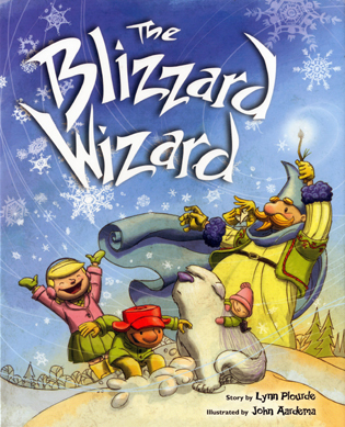 Cover image for the book The Blizzard Wizard