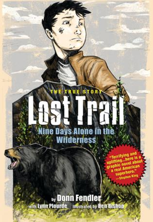 Cover image for the book Lost Trail: Nine Days Alone in the Wilderness