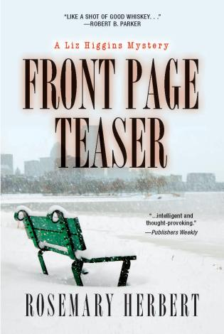 Cover image for the book Front Page Teaser: A Liz Higgins Mystery