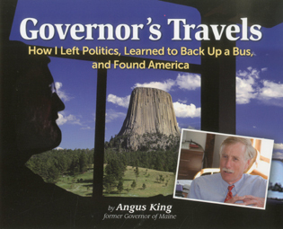 Cover image for the book Governor's Travels: How I Left Politics, Learned to Back Up a Bus, and Found America