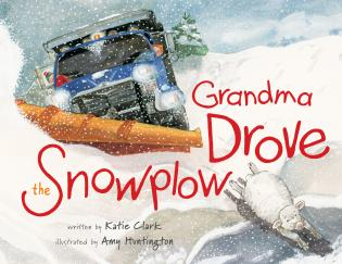 Cover image for the book Grandma Drove the Snowplow