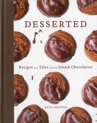 Cover image for the book Desserted: Recipes and Tales from an Island Chocolatier