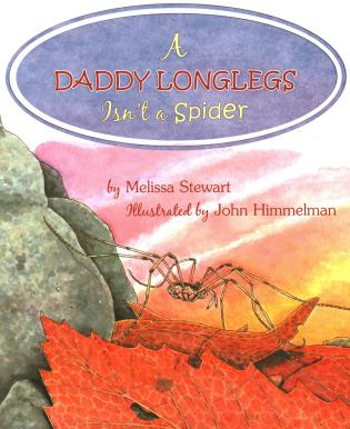 Cover image for the book A Daddy Longlegs Isn't a Spider