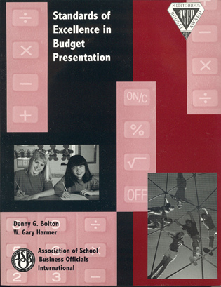 Cover image for the book Standards of Excellence in Budget Presentation