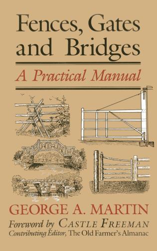 Cover image for the book Fences, Gates & Bridges: A Practical Manual, 1st Edition