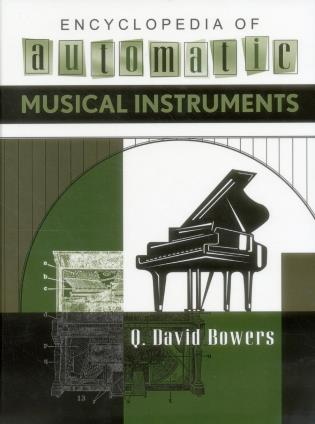 Cover image for the book Encyclopedia of Automatic Musical Instruments
